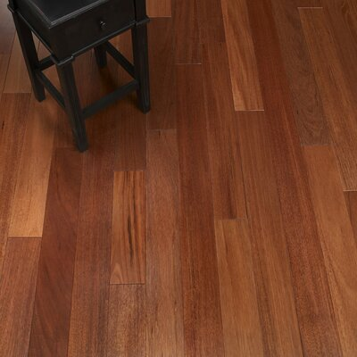 5 Solid Crabwood Hardwood Flooring in Mahogany