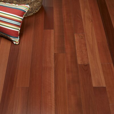 5 Solid Massaranduba Hardwood Flooring in Redwood