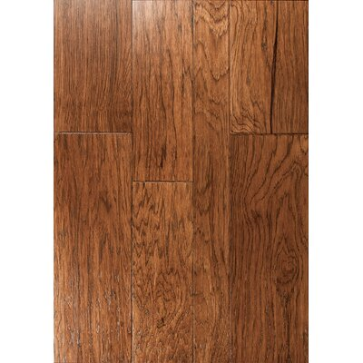 Catalan Random Width Engineered Hickory Hardwood Flooring in Seville