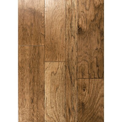 Catalan Random Width Engineered Hickory Hardwood Flooring in Madrid