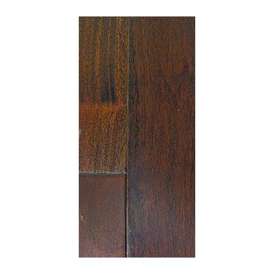 3.63 Solid Pitch Comodo Hardwood Flooring in Dark Brown