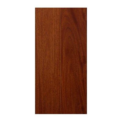 3.63 Solid Santos Mahogany Hardwood Flooring in Natural