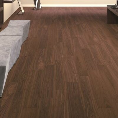 7-16/25 Direct Print Plank - Micro Bevel Cork Flooring in Walnut
