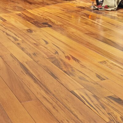 3-1/4 Solid Muiracatiara Hardwood Flooring in Natural