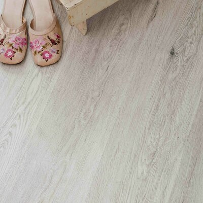 7-16/25 Direct Print Plank - Micro Bevel Cork Flooring in Oak Cream