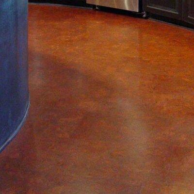 12 Swirl Tiles Cork Flooring in Fudge