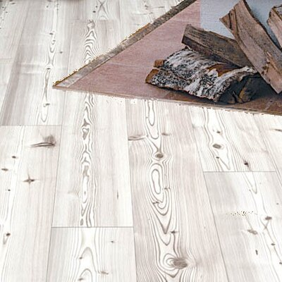 7-16/25 Direct Print Plank - Micro Bevel Cork Flooring in Glacier White