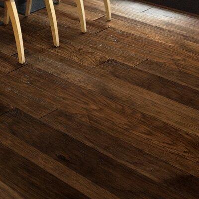 Catalan Random Width Engineered Hickory Hardwood Flooring in Barcelona