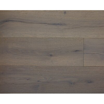 American Traditions 7 Engineered White Oak Hardwood Flooring in Cobblestone