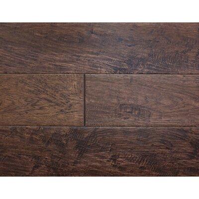 Rustic Old West 7 Engineered Hickory Hardwood Flooring in Barn Door