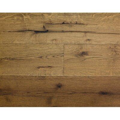 Rustic Old West 7 Engineered White Oak Hardwood Flooring in Soft Suede