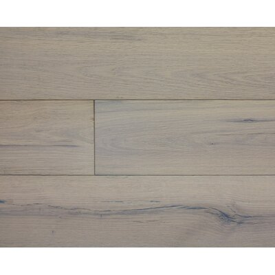 American Traditions 7 Engineered White Oak Hardwood Flooring in Antique Nickel