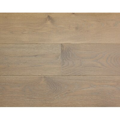 Rustic Old West 7 Engineered White Oak Hardwood Flooring in Mountain Mist