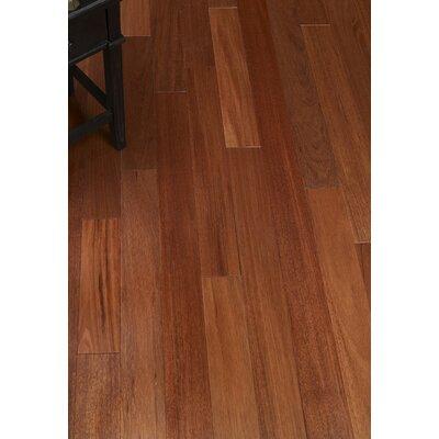 3-1/4 Solid Crabwood Hardwood Flooring in Mahogany