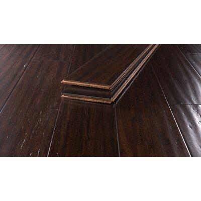 5-2/3 Bamboo Flooring in Brule Handscraped