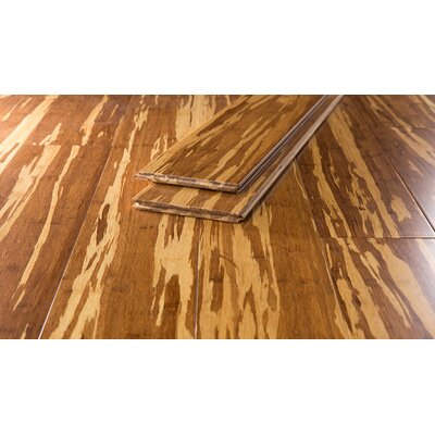 Bamboo Flooring in Marbled Wheat