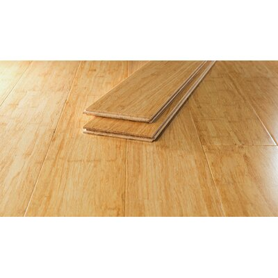 Bamboo Flooring in Natural Wide Plank
