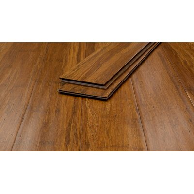 5 Bamboo Flooring in Terreno Antiqued Click-Lock
