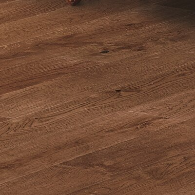 Orchard 4.75 Engineered Oak Hardwood Flooring in Goldfish