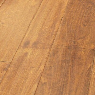 Random Width Engineered Birch Hardwood Flooring in Aleutian