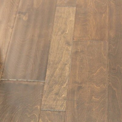 Random Width Engineered Birch Hardwood Flooring in Bold