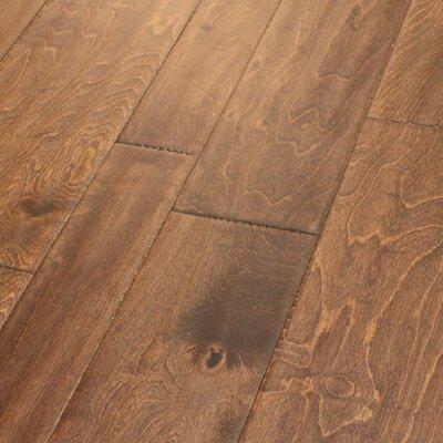 Random Width Engineered Birch Hardwood Flooring in Armagnac