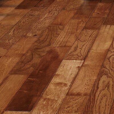 Oceanic Smooth 3.5 Solid Oak Hardwood Flooring in Glacier