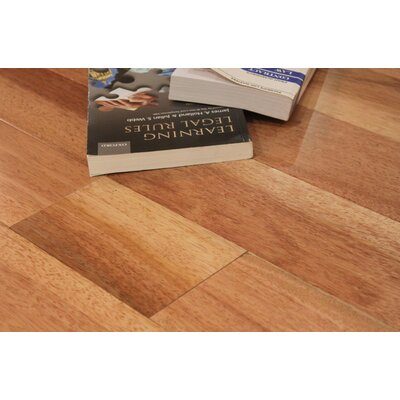 Passion Taun Smooth 4.75 Solid Hardwood Flooring in Natural