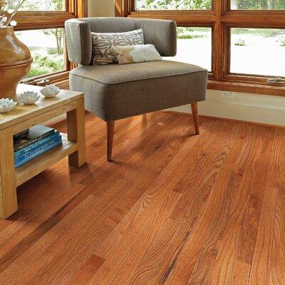 Paradise 2-1/4 Solid Oak Hardwood Flooring in Green Meadow