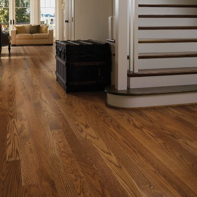 Paradise Random Width Solid Oak Hardwood Flooring in Sunny Hills