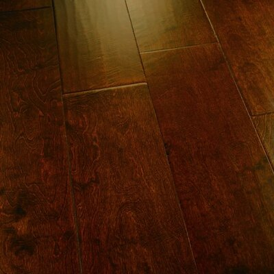 Penultimate 7 Manufactured Wood Birch Hardwood Flooring in Veritable