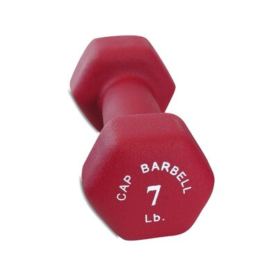 Neoprene Dumbbell Weight / Color: 7 lbs / Maroon