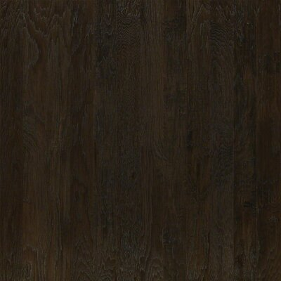 5 Engineered Hickory Hardwood Flooring in Dark Shadow