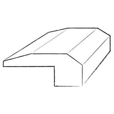 0.38 x 2 x 78 Hickory Threshold in Charcoal / Stonehenge / Charcoal
