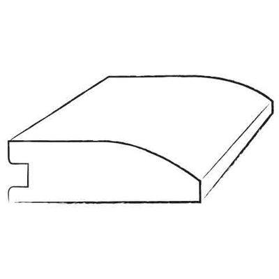 0.38 x 1.5 x 78 Hickory Flush Reducer in Dark Shadow / Dark Shadow