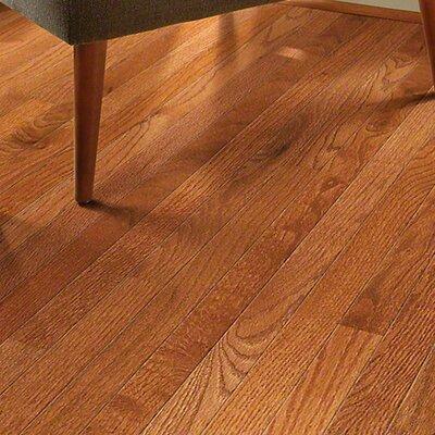 2-1/4 Solid Oak Hardwood Flooring in Gunstock