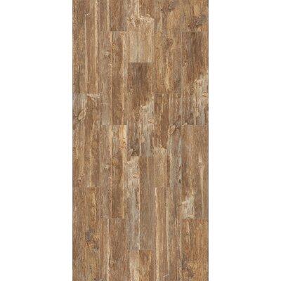 Tampico 7 x 24 Ceramic Wood Look Tile in Light Brown