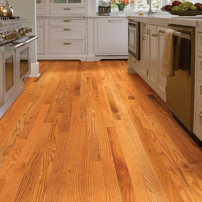 2-1/4 Solid Oak Hardwood Flooring in Caramel