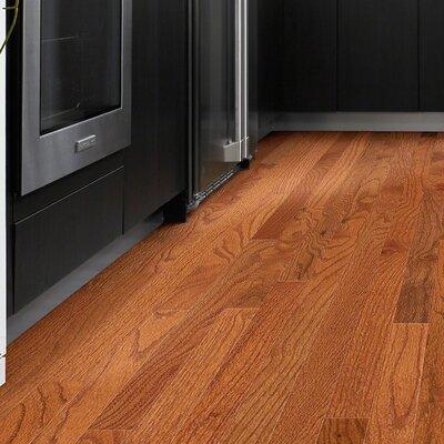 3-1/4 Solid Oak Hardwood Flooring in Gunstock