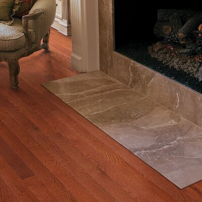 3-1/4 Solid Oak Hardwood Flooring in Merlot