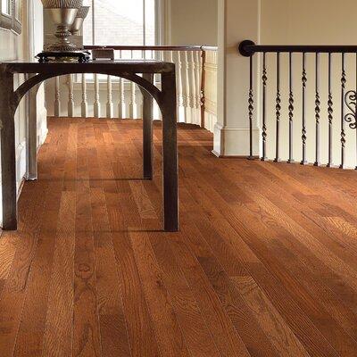 3-1/4 Solid Oak Hardwood Flooring in Leather