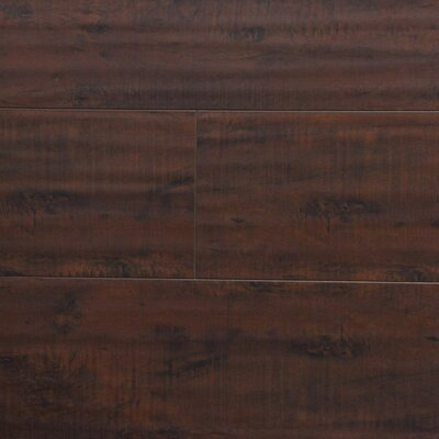 7 x 48 x 12.3mm Laminate Flooring in Antique Walnut