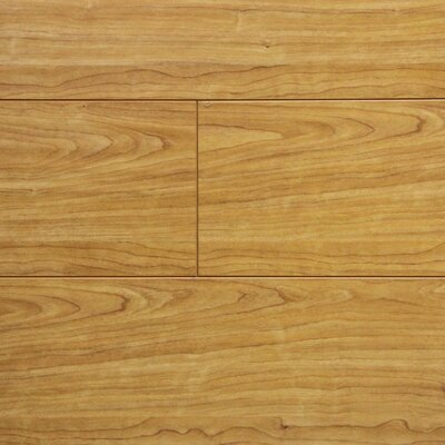 7 x 48 x 12.3mm Laminate Flooring in Natural Cherry (Set of 22)