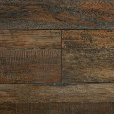 7.8 x 48 x 12.3mm  Laminate Flooring in Vintage Sable