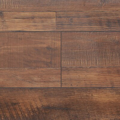 8 x 48 x 12.3mm  Laminate Flooring in Vintage Copper (Set of 22)