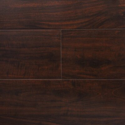 6 x 48 x 12.3mm  Laminate Flooring in Wild Walnut (Set of 22)