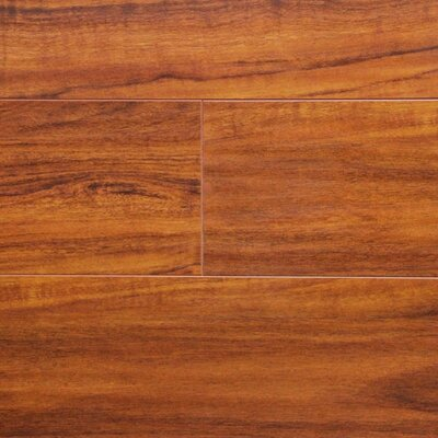 7 x 48 x 12.3mm Laminate Flooring in Brazilian Cherry
