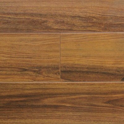 7 x 48 x 12.3mm Laminate Flooring in Walnut (Set of 22)