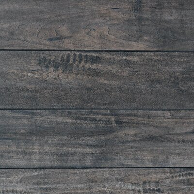 5 x 48 x 12.3mm  Laminate Flooring in Smoked Almond (Set of 4)