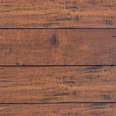 5 x 48 x 12.3mm  Laminate Flooring in Whiskey Sapele (Set of 22)